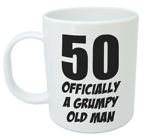 Image Is Loading 50 Officially A Mug Funny Novelty 50th Birthday