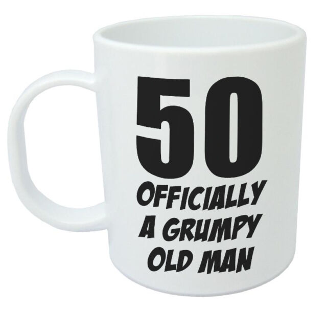 50 Officially A Mug Funny Novelty 50th Birthday Gifts For Men Women Gift Ideas