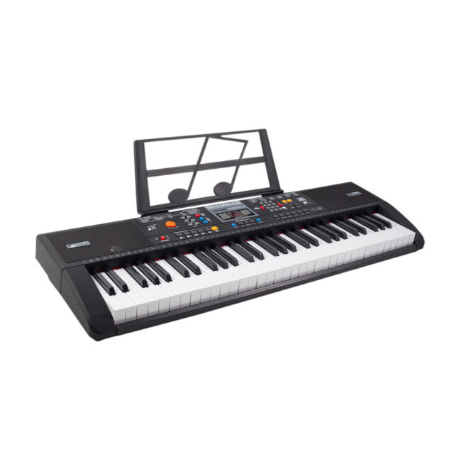 plixio 61 key full size electronic music keyboard electric piano with usb mp3 for sale online ebay. Black Bedroom Furniture Sets. Home Design Ideas