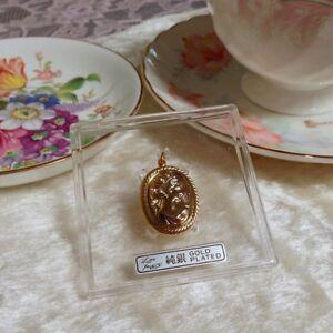 Victorian-Cameo-gold-pendant