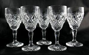 5-Stunning-heavy-vintage-lead-crystal-glasses-spirit-liqueur-shot-small