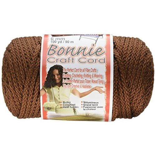 Pepperell Polyolefin Fiber Bonnie Macrame Craft Cord 6 Mmx 100 Yard-almond