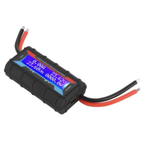 130A LCD Leistungsanalysator Watt Meter Amp Meter Power Analyzer 4.8V~60V