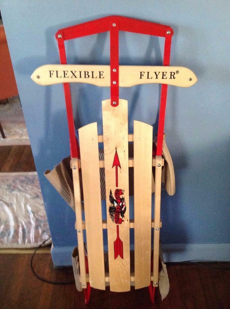 Flexible Flyer 48  Inch Steel Runner Sled