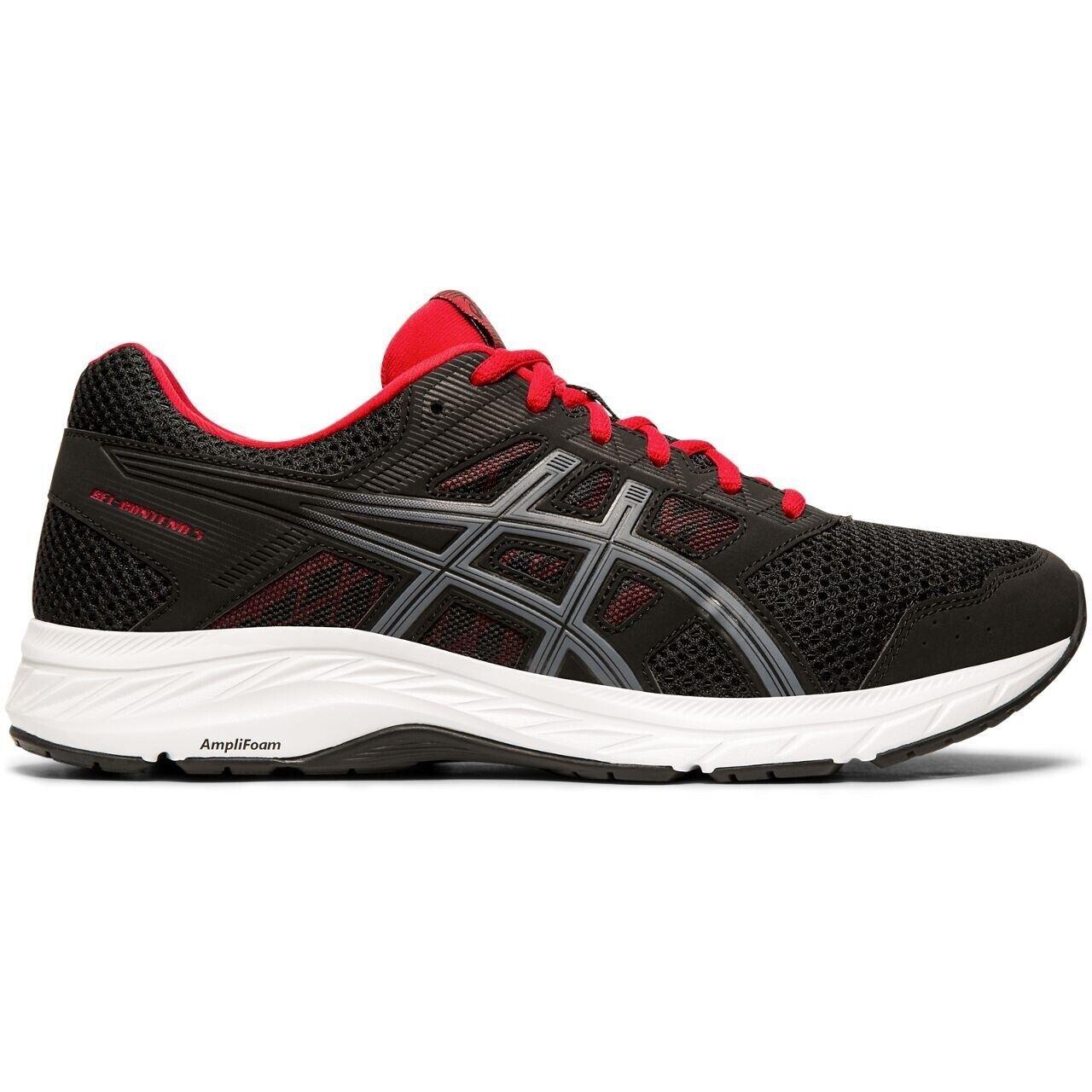 ASICS GEL-Contend 5 (4E) - hombre para correr Zapato-Negro - 1011A252.005