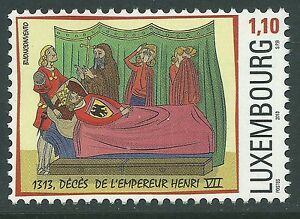 Luxembourg-2013-700th-Ann-Of-The-Death-Of-Henry-VII-Art-MNH