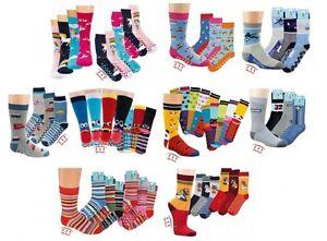 3-Paar-Kinder-Jungen-Maedchen-ABS-Stopper-Socken-Fliesenflitzer-Gr-19-22-39-42