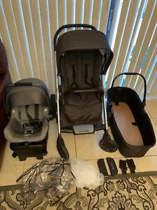 Nuna Mixx 2 Stroller 2018. + Bassinet + Car Seat. Travel ...