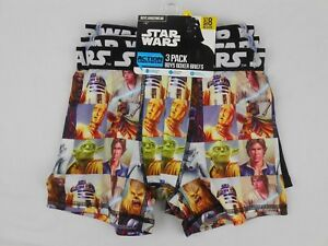 Star Wars Underwear 3-Pack Action Boxer Briefs for Boys