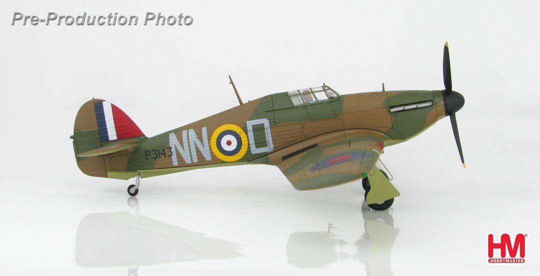 Hobby Master HA8611, Hurricane Mk.I, P3143, Sgt. B. Fürst, 310. (Czech) Sqn., Du