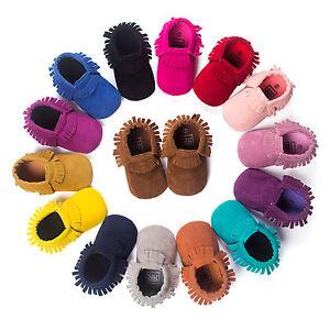Newborn-Baby-Boy-Crib-Infant-Toddler-Girl-Fringe-Moccasins-Soft-Sole-Shoes