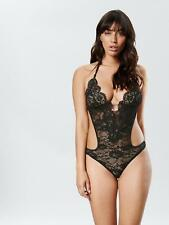 5925c09d796b Ann Summers Womens Brianna Body Lace Diamante Halterneck Sexy Lingerie  Underwear