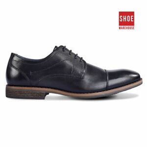 Julius Marlow ANVIL Black Mens Lace-up Everyday Leather Shoes
