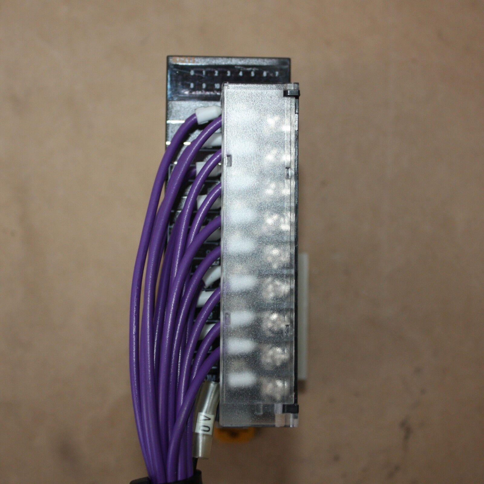 OMRON SYSMAC I O INPUT MODULE 16 Channel 24DC 7mA CJ1W-ID211 PLC