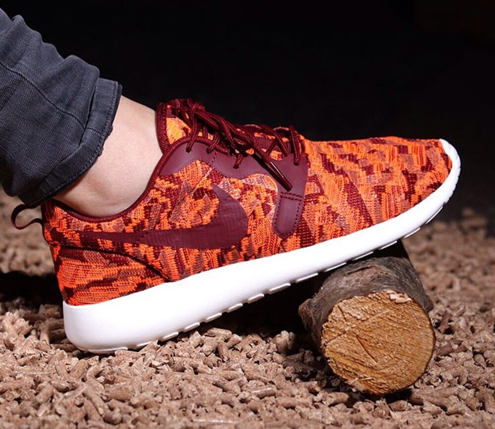 Nike roshe uno kjcrdmujer'S Zapatillas total total total Naranja Rojo equipo 100% Auténtico  moda