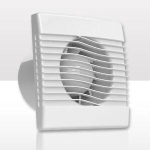 wand ventilator l fter leise 100 120 150 timer zeitschalter feuchtesensor prim. Black Bedroom Furniture Sets. Home Design Ideas