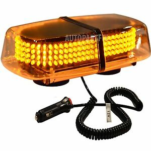 240 led magnetic amber yellow emergency truck strobe flash. Black Bedroom Furniture Sets. Home Design Ideas