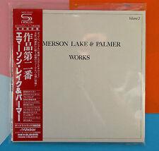 Emerson Lake & Palmer ,   Works Vol. 2 (Papersleeve) (SHM-CD) (Reissue)