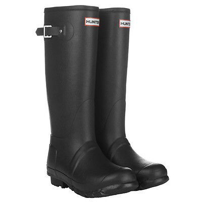 HUNTER ORIGINAL TALL BLACK WELLINGTON BOOTS US Sizes 6 - 12 Welly Black