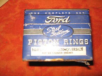 FORD V8  95 HP ENGINE PISTON RING SET.030 1932 33 34 35 36 37 38 39 40 42 44