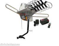 Wa-2608 Long Range Amplified Tv Antenna + J Mounting Mast Pole 2 Items Pack Deal