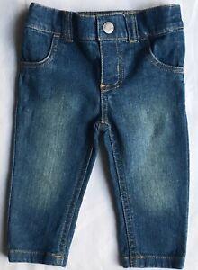 ba2aa86ac40e Jeans size 6 Months Skinny Baby Girls Boys Denim Pants Blue EUC ...
