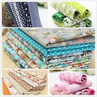 Series 7 Assorted Pre Cut Charm Cotton Quilt Fabric Fat Quarters Bundles Set
