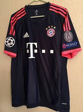 bayern Munich Player Issue Shirt  Adizero No Formotion Match Unworn   jersey