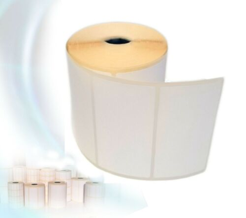 Thermal Blank White Self Adhesive Sticky Labels rolls 100X50mm