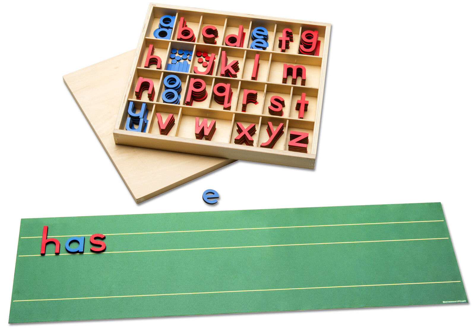 Montessori-Material - Schriftspracherwerb mit beweglichem Alphabet fördern