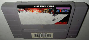 DISCOUNTED-Super-Nintendo-Game-SUPER-VALIS-IV-Works-SNES-Fun-4-Action-Platform