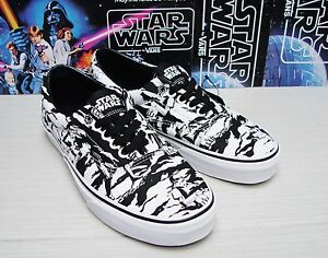 2ecbe9905d Vans Era Star Wars Dark Side Storm Trooper Camo Women s Size 5.5
