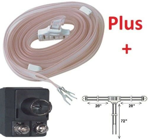 INDOOR FM RADIO STEREO T DIPOLE SPADE ANTENNA COAX CONNECTOR 75-300 Ohm Balun . Available Now for 7.49
