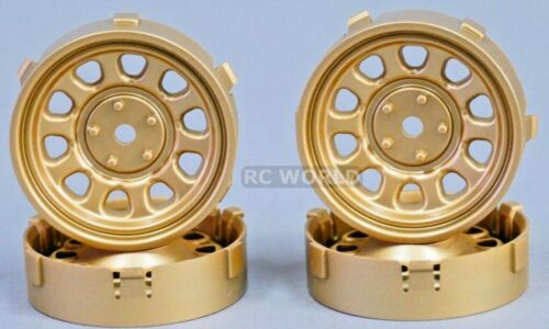 Tetsujin SUNFLOWER RC Car 1//10 WHEELS SILVER Adjustable Offset  3-6-9mm 4 RIMS
