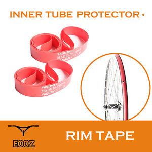 1Pair PVC Rim Tapes Strips for Mountain Bike Road Bicycle Folding Tire C BRUSEA