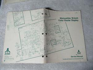 Manuals & Guides Diplomatic Matsushita Atari Tm-197 Arcade Game Manual Yet Not Vulgar