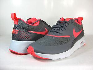 Womens Nike Air Max Thea Grey Hyper Punch Silver