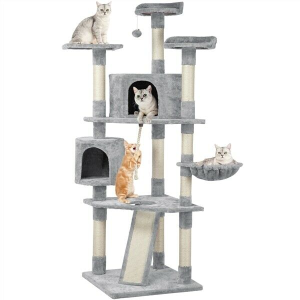 Tucker Murphy Pet Margolis 64 Tarragona Playground Cat Tree For Sale Online Ebay