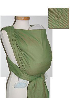 Storchenwiege Leo Green Baby Wrap