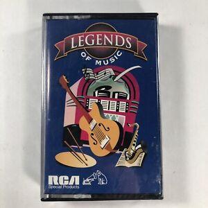 Legends-Of-Music-1981-RCA-Cassette-Tape-Presley-Anka-Sinatra-Parton-Horne-NEW