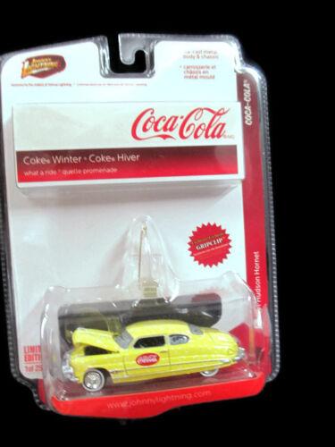Coca-Cola Johnny Lightning Limited Edition Winter 2008 /'51 Hudson Hornet