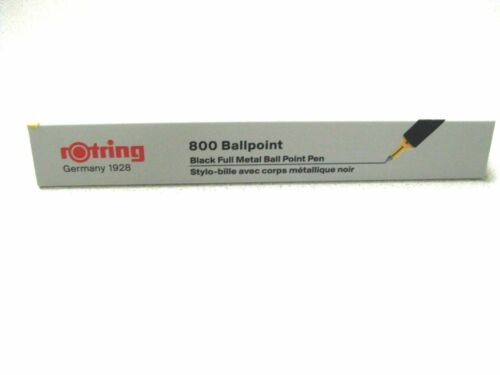 rOtring 800 series Ballpoint Pen Black Knock Type 2032579 Japan Limited F//S New