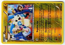 POKEMON BW11 BLACK & WHITE LEGENDARY TREASURES HOLO REV N°  48/113 MINUN