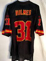 Reebok Nfl Jersey Chiefs Priest Holmes Black Alternate Sz M