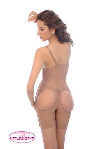 dbc9197a07618 Image is loading Lipo-Illusion-Girdles-Buttocks-Free-Strapless-Body-Shaper-