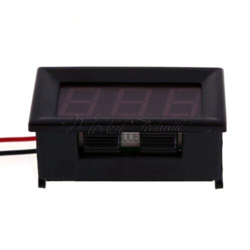 """0.56/"""" DC5V~120V Voltmeter LED 2 Wire Digital Volt Voltage Meter For Electric Car"""