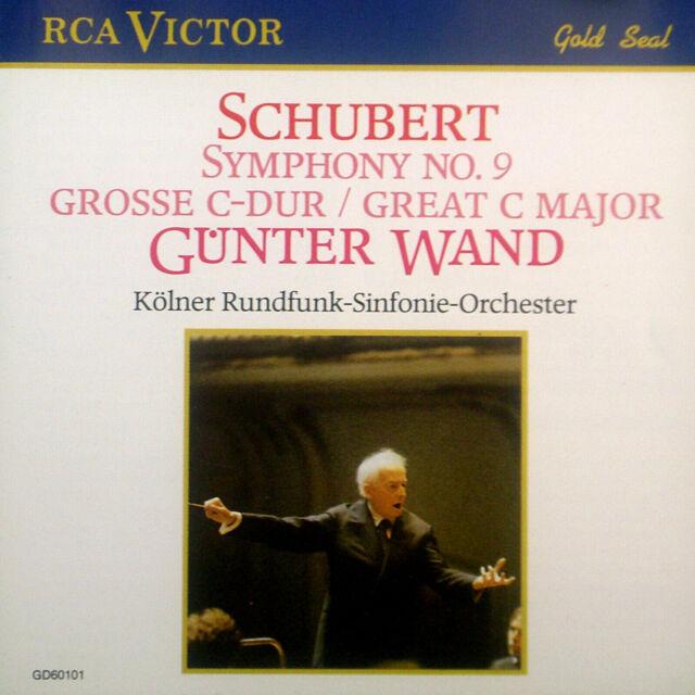 CD SCHUBERT - symphony no. 9, Günter Wand