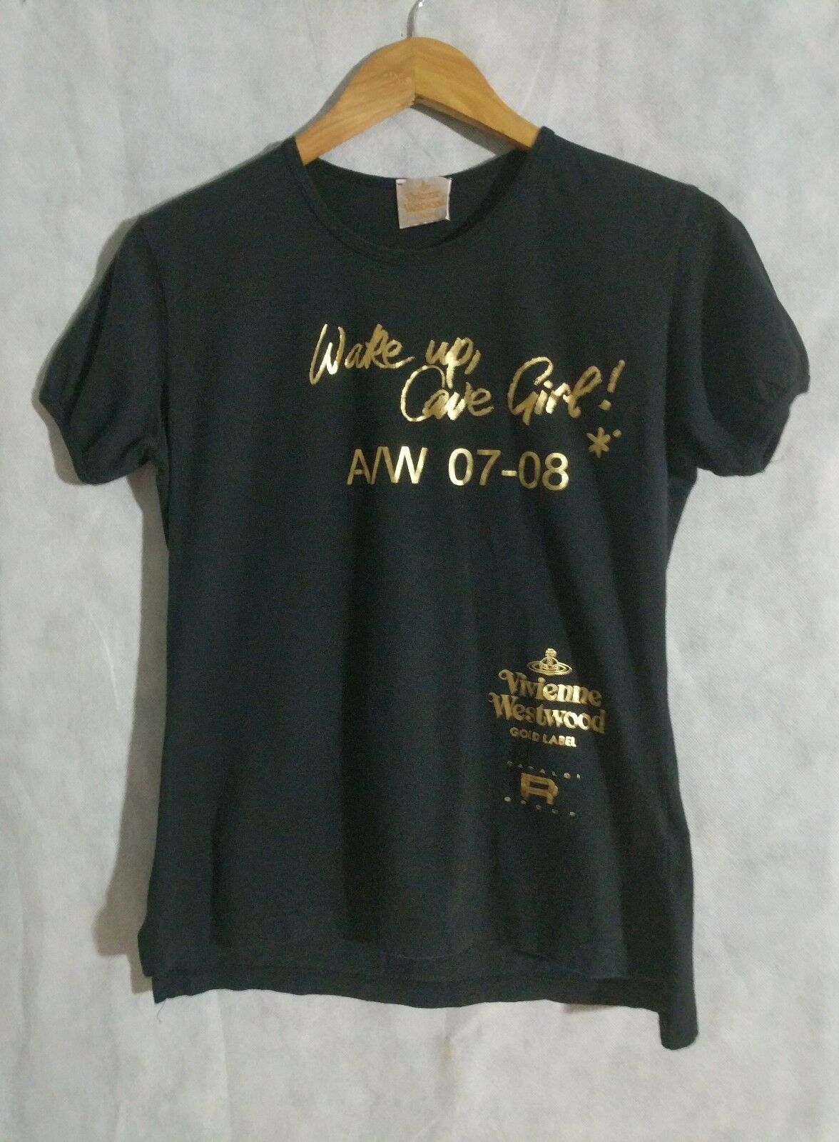 Vivienne Westwood AW 08 WAKE UP CAVE GIRL T Shirt Size 3