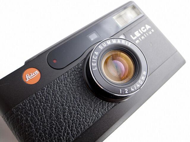 Leica Minilux E02 error service, camera repair, fix