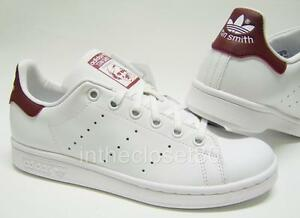 adidas stan smith burgundy
